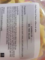 Tortellini Consum Setas - Ingredientes - es