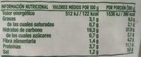 Risotto al funghi - Nutrition facts - es