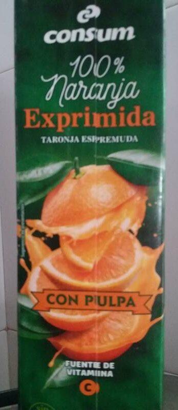 Zumo de naranja exprimida - Producto - es
