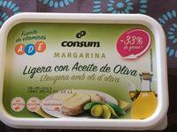 Margarina ligera con aceite de oliva - Producte - es