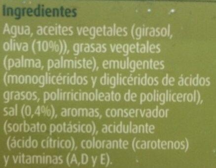 Margarina ligera con aceite de oliva - Ingredients - es