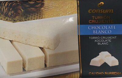Turron Crujiente Chocolate Blanco