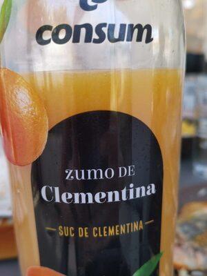 Zumo de clementina - Product - fr