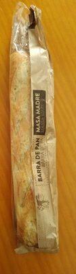 Barra de Pan Masa Madre - Producto - es