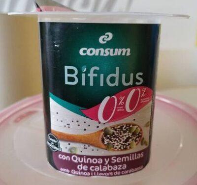 Bifudus con quinoa y semillas de calabaza - Product