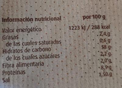 Bocadillo - Nutrition facts - es