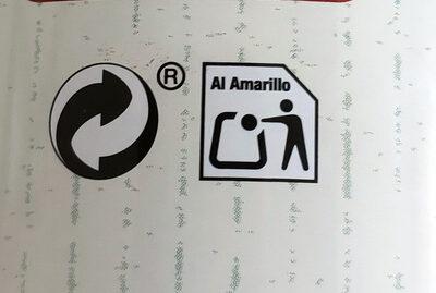 Aceitunas rellenas de pimiento asado - Instruccions de reciclatge i/o informació d'embalatge - es