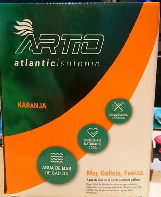 Atlantic isotonic naranja - Product - es
