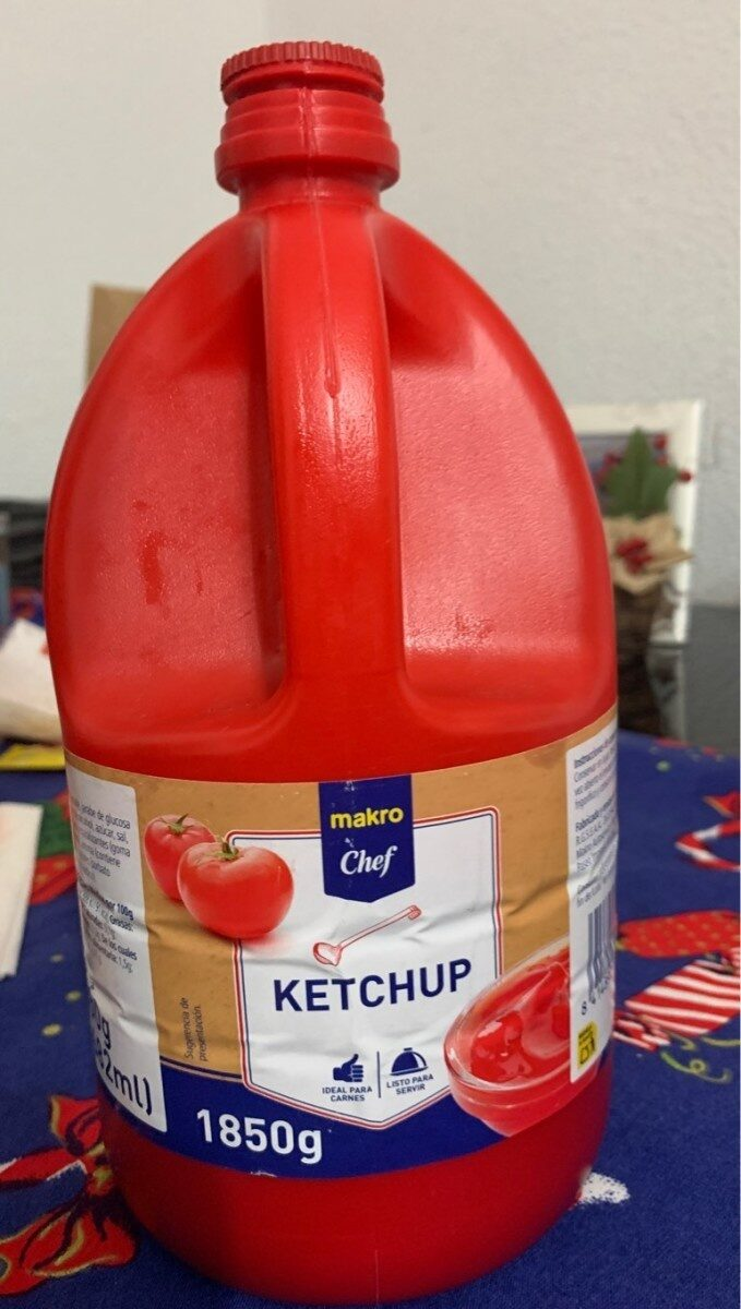 Ketchup makro - Product - es