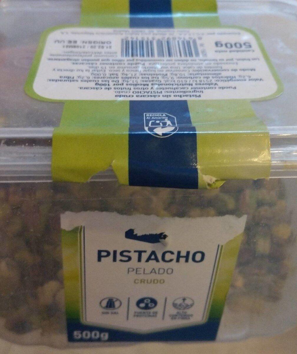 Pistacho Pelado Crudo - Producto - es