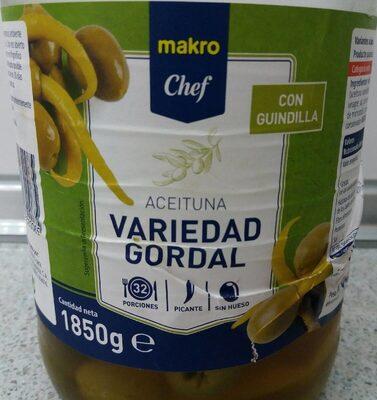 Aceituna gordal con guindilla - Product - es