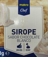 Sirope sabor chocolate blanco - Product