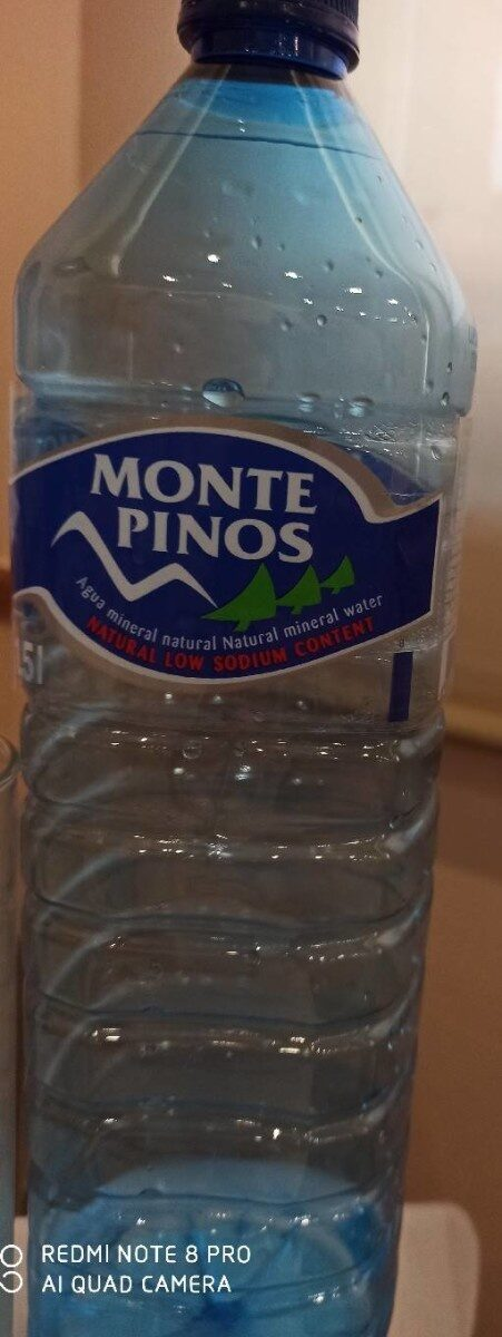 Agua natural monte pinos - Producto - es
