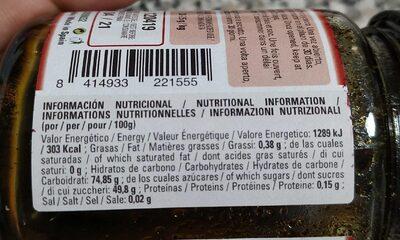 Pasta concentrada de vainilla - Nutrition facts