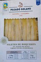 Filetes de boquerón en aceite de oliva virgen extra ecológico - Producto - es