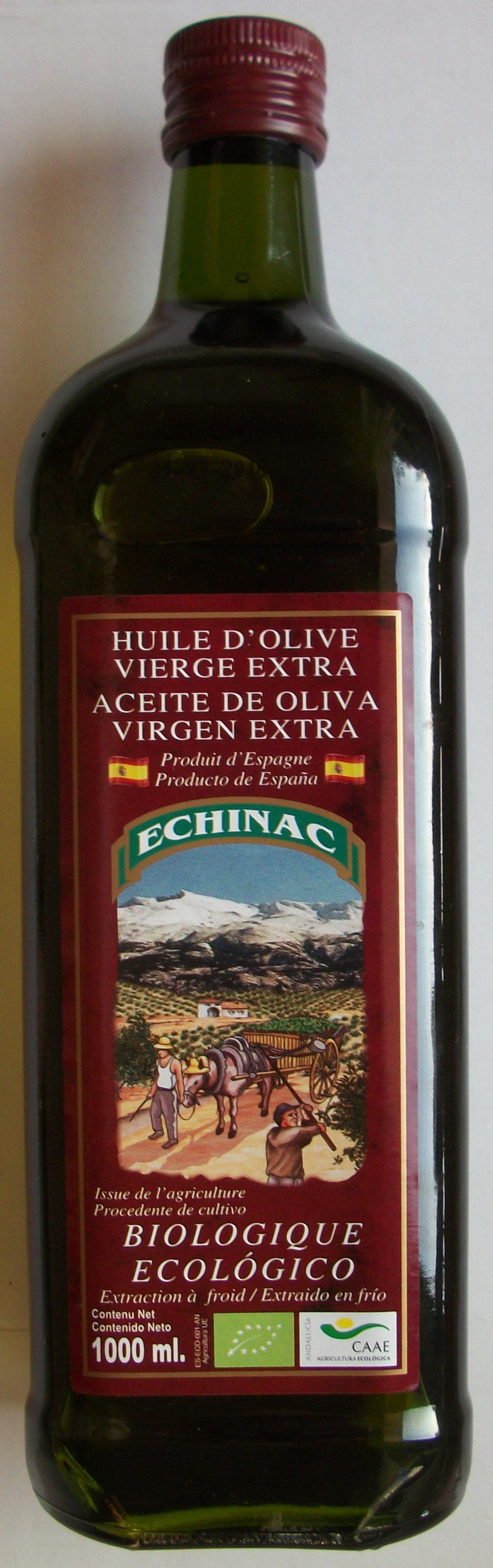 Huile d'olive vierge extra biologique - Produit