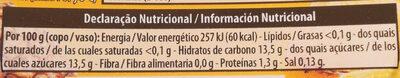 Gelatina Sabor Ananás - Informations nutritionnelles - fr