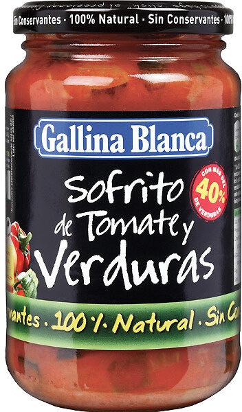 Sofrito de tomate y verduras - Product - es