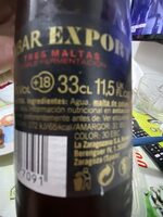Ambar Export - Ingredientes - es