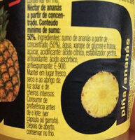 Zumo de pina/ananas VIDA - Ingrediënten - es