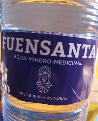 Agua minero-medicinal - Product