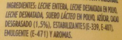 Cacaolat Original - Ingrediënten