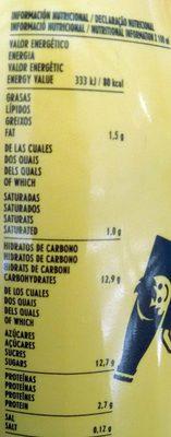 Cacaolat Original - Voedigswaarden