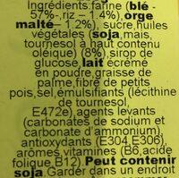 Galetes Delícies Flora - Ingredienti - fr