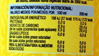 indian tonic - Voedingswaarden