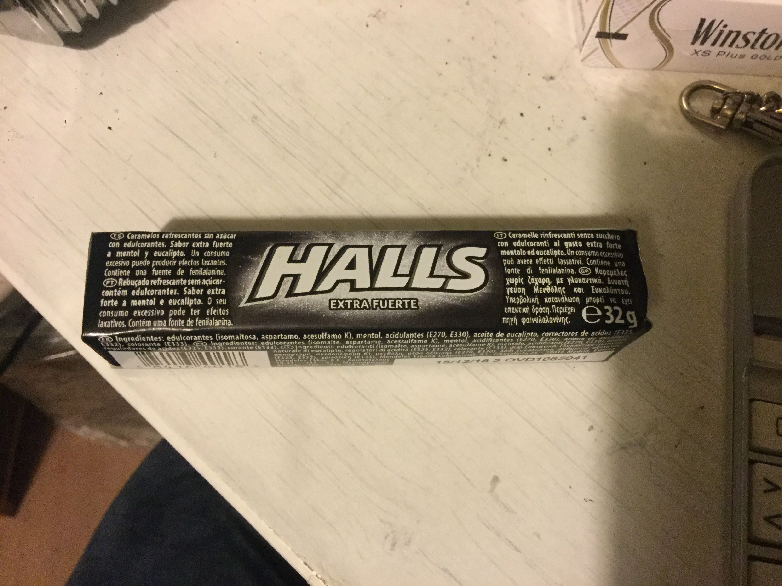 HALLS extra strong - Producto