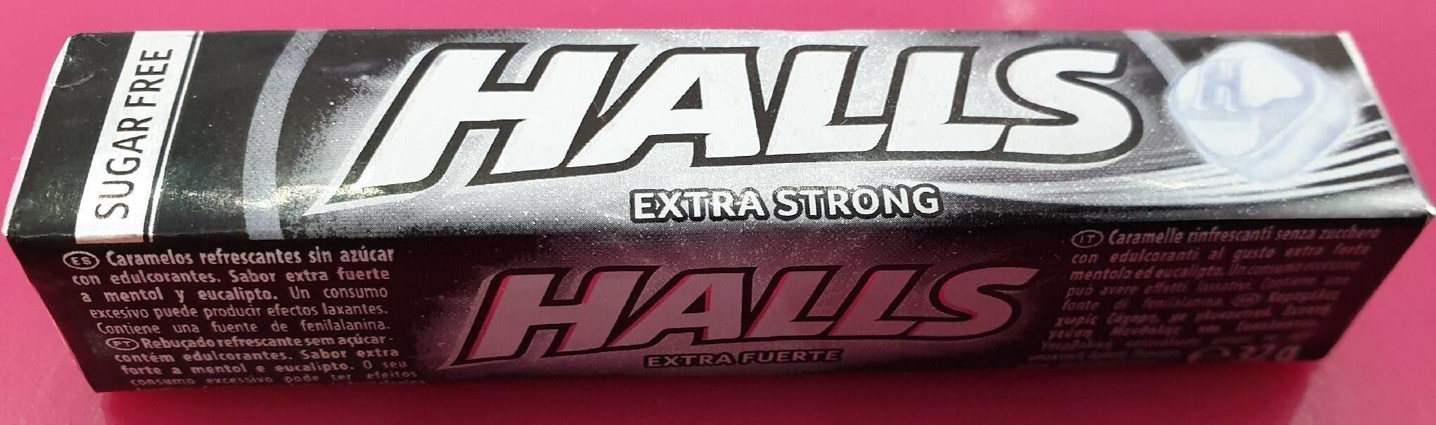 HALLS extra strong - Produit - es