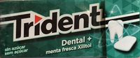 Trident - Dental+ menta fresca - Producto