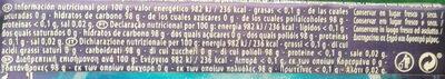 Original Coolwave - Información nutricional - es