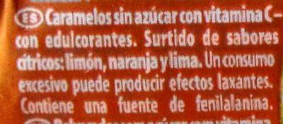 Citrus Mix - Ingredientes