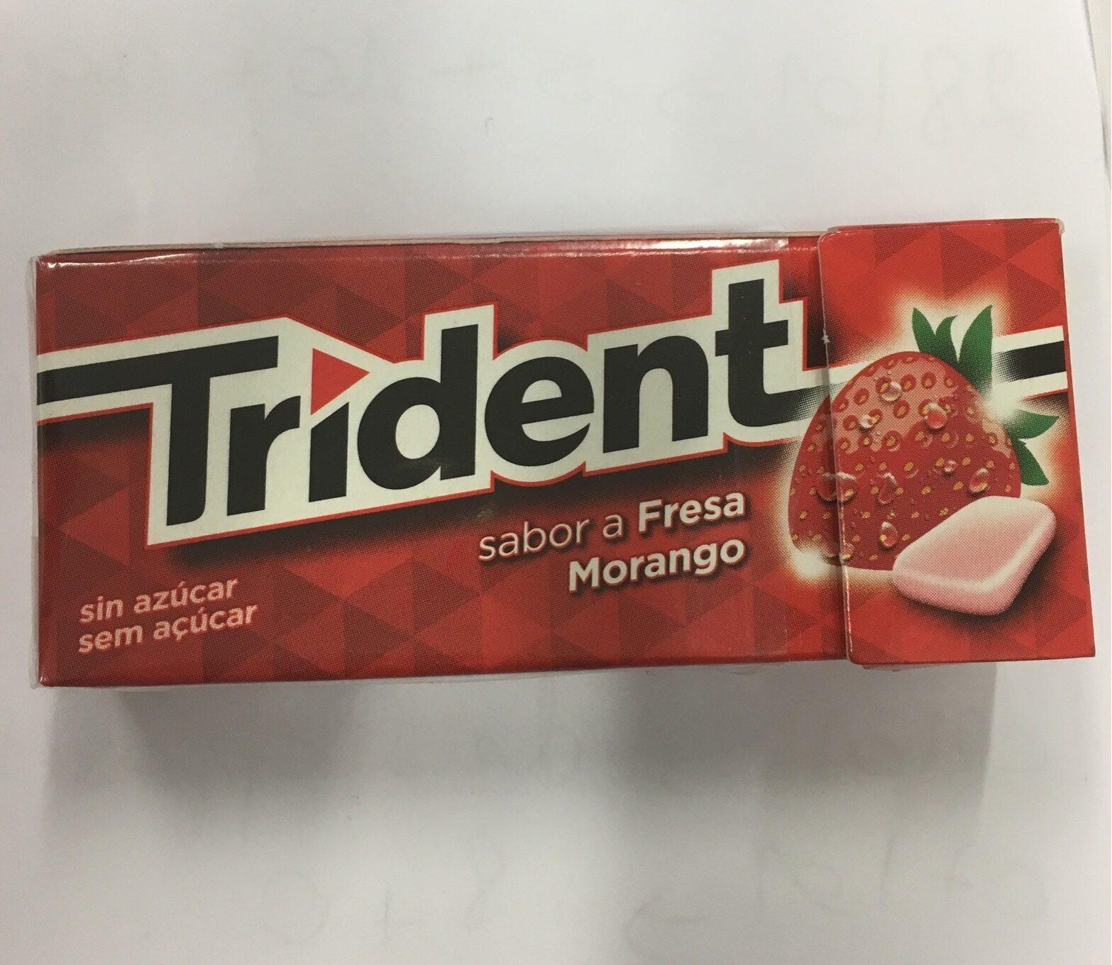 Trident - Fresa - Produit