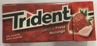 Chewing Gum goût fraise - Producto - es