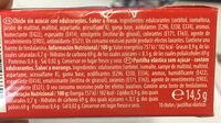 Chewing Gum goût fraise - Ingredients - es