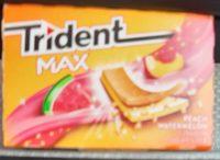 Trident Max - Peach Watermelon - Produit