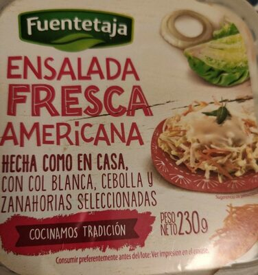 Ensalada fresca americana
