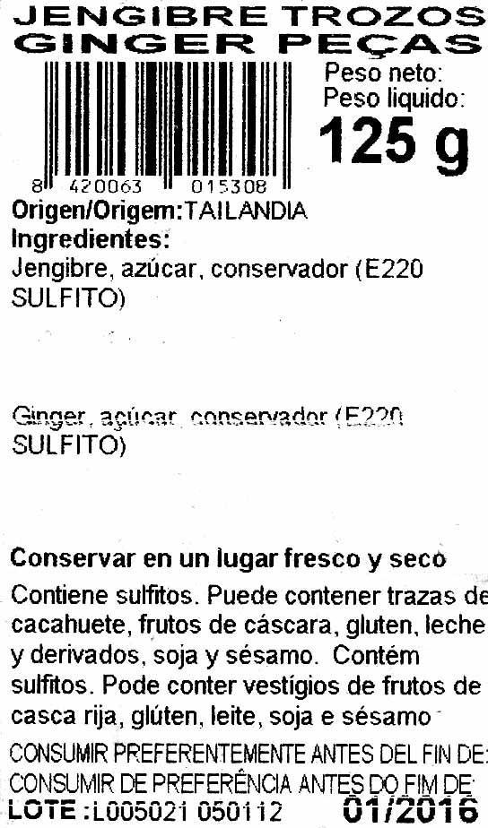 Frutas exoticas - Ingredientes - es