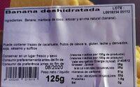 Frutas Exoticas - Información nutricional - es