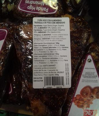 Pan de higo con almendras - 1