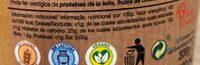 Sorbete de limones del valle - Informació nutricional