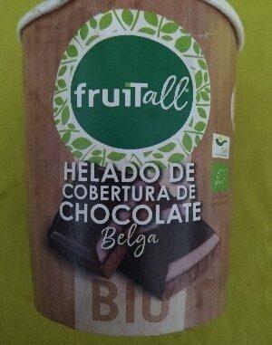 Helado de cobertura de chocolate Belga - Ingredientes - es