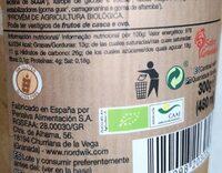 Helado de cobertura de chocolate Belga - Información nutricional - es