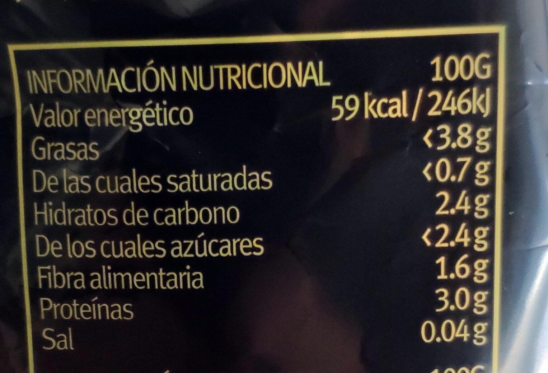Brotes de soja verde - Informations nutritionnelles - es