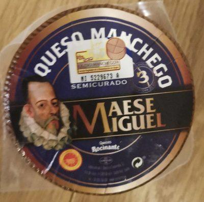 Queso Manchego Semicurado DOP Maese Miguel - Produkt - es