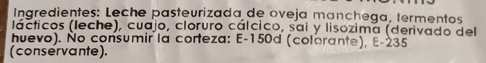 Queso Manchego Semicurado DOP Maese Miguel - Zutaten - es