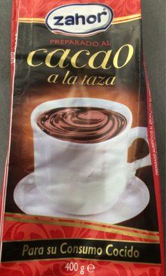 Preparado al cacao a la taza