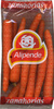 "Zanahorias ""Alipende"" - Producto"